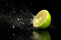 Burst of Lime Royalty Free Stock Photography