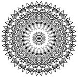 Burst Mandala. Ornamental round mandala. Geometric circle element made in . Perfect for any other kind of design, birthday and other holiday, kaleidoscope Stock Photo