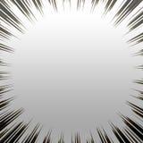 Burst metallico di Grunge Immagini Stock