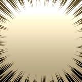 Burst metallico di Grunge Fotografie Stock