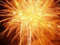 burst orange Στοκ φωτογραφίες με δικαίωμα ελεύθερης χρήσης