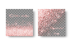 Burst pink background Stock Image