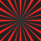Burst red and black rays Royalty Free Stock Photography