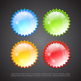 Burst star Royalty Free Stock Photography
