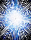 Burst with stars Royalty Free Stock Images