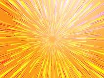 Burst streaks of light Stock Photography