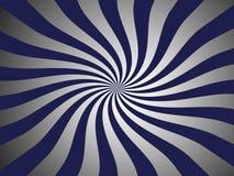 Burst strip background. Blue and white burst strip background (gradiently Stock Image