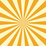Burst vector background - Yellow Royalty Free Stock Photo