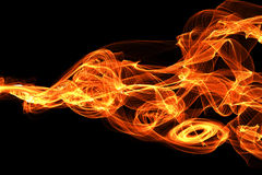 Bursting flame Royalty Free Stock Photos