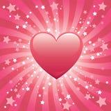 Bursting Heart Background Stock Photography