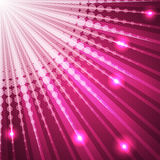 Bursting pink background with halftones Royalty Free Stock Photo