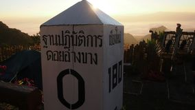 Burstone op Doi Angkhang Stock Foto's