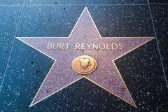 Burt Reynolds Hollywood Star royaltyfria foton