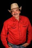 Burt Reynolds Imitator Stockfotografie
