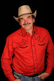 Burt Reynolds impersonator Stock Photography