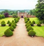Burton Agnes Hall Gatehouse, Yorkshire, Angleterre photo stock