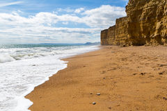 Burton Bradstock Beach Dorset Stock Photo