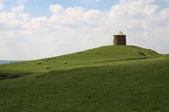 burton dassett wzgórza Warwickshire Obraz Stock