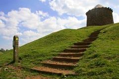 burton dassett wzgórza Warwickshire Fotografia Stock