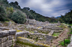 Burtrint, archaeological site Stock Photos