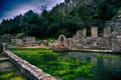 Burtrint, archaeological site Stock Photos