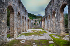 Burtrint, archaeological site Stock Photography
