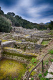 Burtrint, archaeological site Royalty Free Stock Images