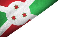 Free Burundi Flag Left Side With Blank Copy Space Royalty Free Stock Images - 154922299