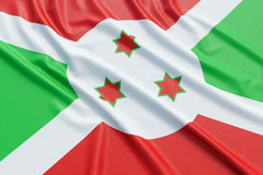 Burundi flag Royalty Free Stock Image