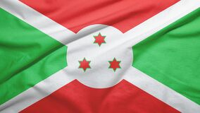 Free Burundi  Flag With Fabric Texture Stock Photos - 181568773