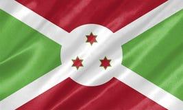 Burundi-Flagge vektor abbildung