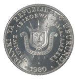 Burundi franka moneta Zdjęcia Royalty Free