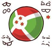 Burundi landsboll arkivbild