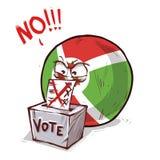 Burundi que vota no libre illustration