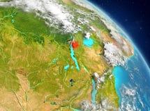 Burundi van baan vector illustratie