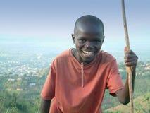 Burundian boy Royalty Free Stock Images