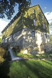 Burwell Morgan Grist Mill en Millwood, VA Fotos de archivo