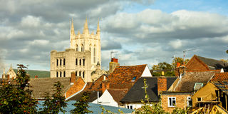 Bury St Edmunds Stock Image