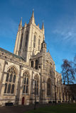 Bury St Edmunds Cathedral. In the winter sunlight Royalty Free Stock Images