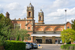 Bury St Edmunds Train station Stock Photography