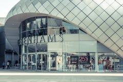 BURY ST EDMUNDS, UK Arc Shopping centre Stock Photo