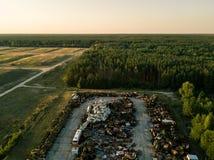 Buryakivka Machinery Graveyard Chernobyl Exclusion zone
