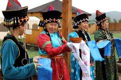 Buryat foto de stock