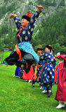 Buryat Dance Group Stock Images