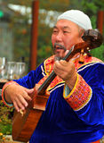 Buryat Tanz-Gruppe Lizenzfreies Stockfoto