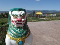 The Rinpoche bagsha datsan in Ulan Ude. royalty free stock images