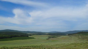 Buryatia. Tugnui Valley Royalty Free Stock Photography