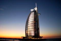 Burz-Al-Arab. It is a picture of Burz-Al-Arab, UAE. The last day of 2009 Stock Photos