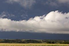 Burz chmur prerii niebo fotografia royalty free