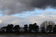 Burz chmur zbierać Zdjęcia Stock